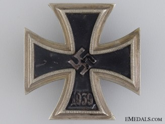A Second War Iron Cross First Class 1939