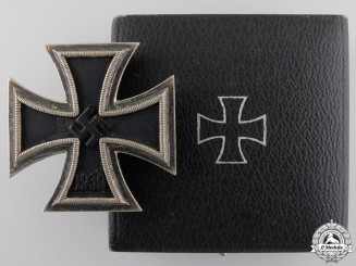 A Second War Iron Cross First Class 1939 by Meybauer, Berlin