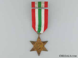 A Second War Italian Campaign Star