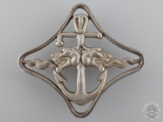 A Second War Italian Naval Battleship Badge