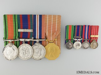 A Second War Medal Group to Lieutenant Lausanne