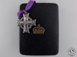 A Second War Memorial Cross to Canadian Stretcher Bearer