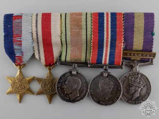 A Second War Miniature Group of Five Awards