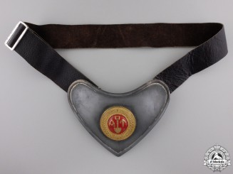 "A Second War Norwegian Labor Service ""Arbeidstjensten"" Gorget"