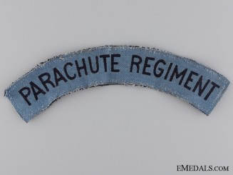 A Second War Parachute Regiment Shoulder Flash