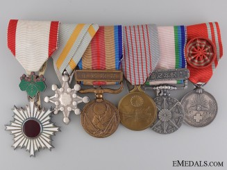A Second War Period Japanese Medal Bar