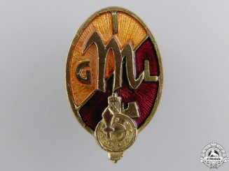 A Second War Period Italian CIL Membership Badge