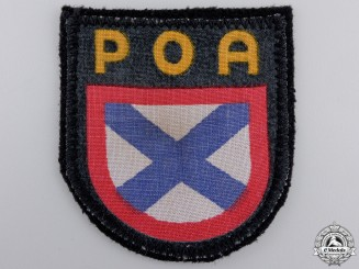 A Second War POA Foreign Volunteer Shield
