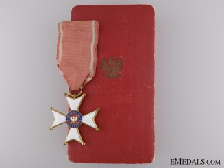 A Second War Polish Order of Polonia Restituta