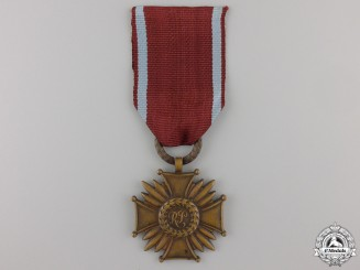 A Second War Polish Merit Cross; Third Class