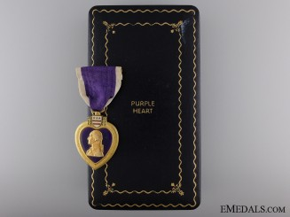 A Second War Purple Heart; Named