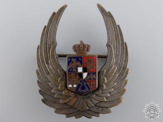 A Second War Romanian Air Force Observer's Badge