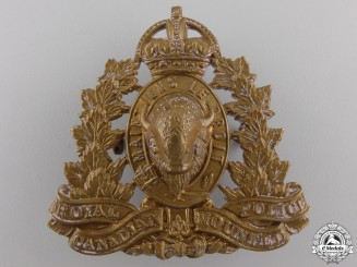 Canada. A Royal Canadian Mounted Police Cap Badge, c.1945