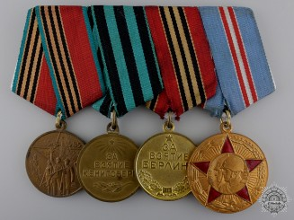 A Second War Russian Victory Group of Four