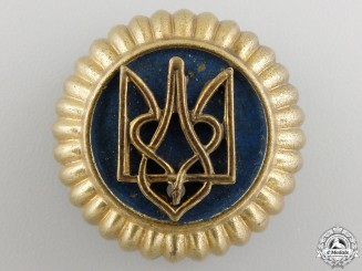 A Second War Ukrainian Volunteers Cap Badge