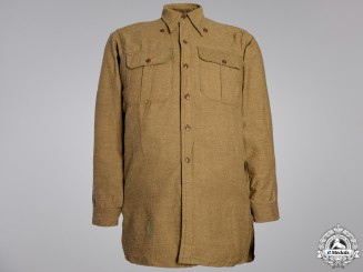A Second World War Canadian Field Shirt; Winter VersionConsignment #16