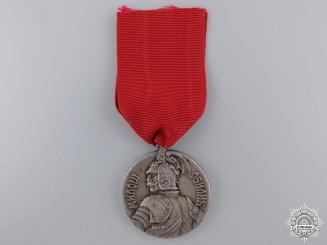 A Serbian Bravery Medal; Silver Grade