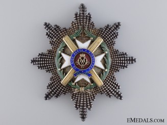 Serbian Order of Takovo; Grand Cross Star