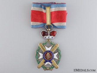 A Serbian Order of Takovo, Commander's Cross