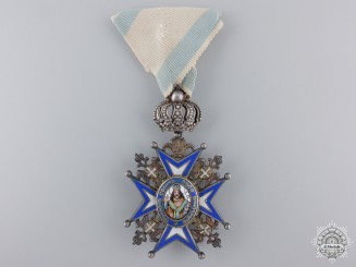Serbia, Kingdom. An Order of St. Sava, V Class, c.1918