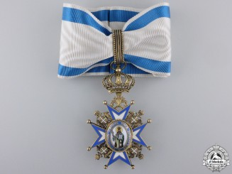 A Serbian Order of St. Sava; 3rd Class Commander Cross