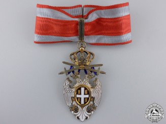 A Serbian Order of the White Eagle by A. Bertrand; Commander
