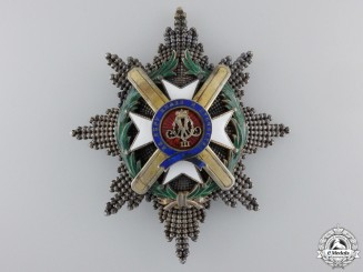 A Serbian Order of Takovo; Second Class Breast Star