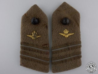 A Set of First War Royal Air Force Lieutenant Shoulder Boards