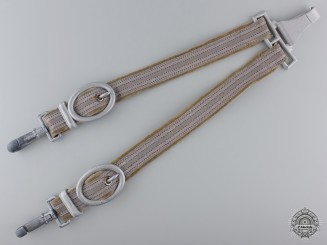 A Set of German Red Cross Leader's Dagger Hangers