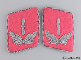 A Set of Luftwaffe Flight Engineer Collar Tabs