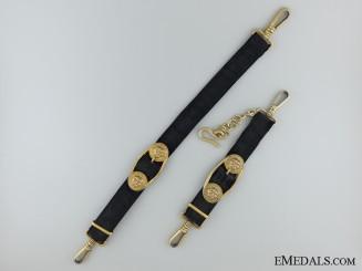 A Set of WWII Kreigsmarine Dagger Hangers