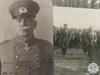 A Signed Photo of Generaloberst Wilhelm Heye