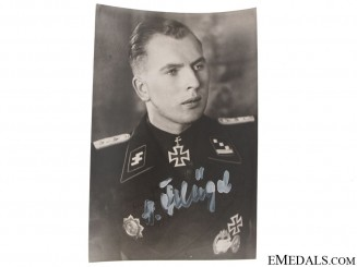 A Signed SS Knights Cross Winner Photograph