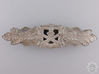 A Silver Grade Close Combat Clasp by Friedrich Linden, Lüdenscheid