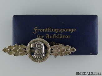 A Silver Grade Reconnaissance by C.E Juncker Berlin  Consignment 3