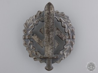 A Silver Grade SA Defense Badge by W.Redo