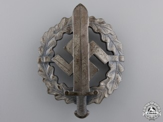A Silver Grade SA Defense Badge