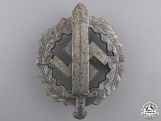 A Silver Grade SA Sports Badge