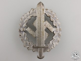 A Silver Grade SA Sports Badge by W.Redo