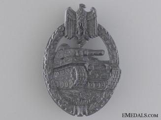 A Silver Grade Tank Badge by Friedrich Linden, Lüdenscheid