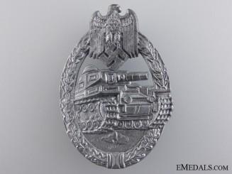A Silver Grade Tank Badge by F. Wiedmann