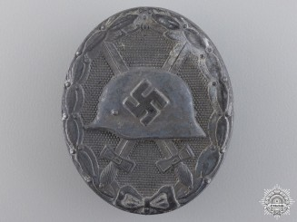 A Silver Grade Wound Badge by Moritz Hausch AG