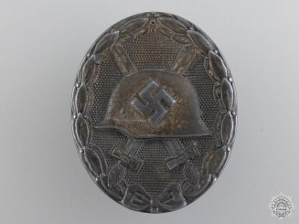 A Silver Grade Wound Badge by Steinhauer und Lück