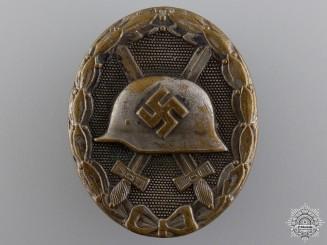 A Silver Grade Wound Badge by Steinhauer & Luck