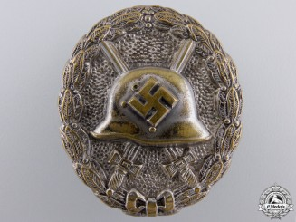 A Silver Wound Badge 1939 ; Legion Condor Type