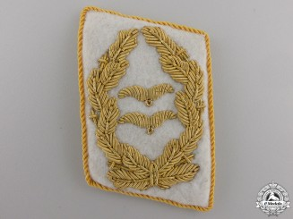 A Single Luftwaffe Collar Tab for Generalleutnant