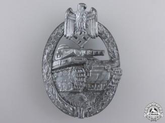 A Sliver Grade Tank Assault Badge by Hermann Aurich