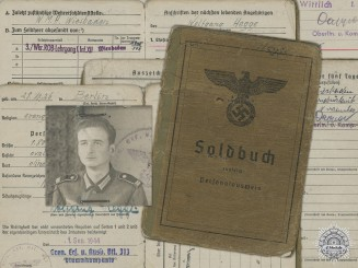 A Soldbuch to the 313rd Special Training Reserve Battalion
