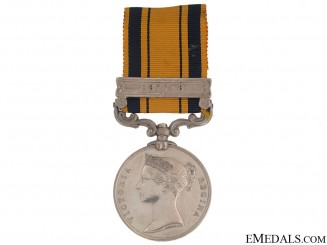 A South Africa Medal 1879 to Frontier Mounted RiflesSouth Africa Medal 1877