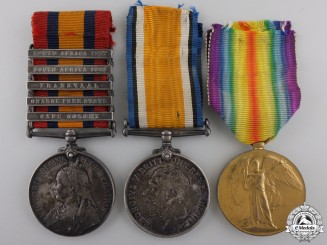 A South African & First War Group to Lieutenant Williams  Consignment #36